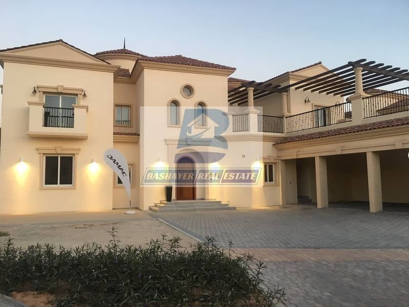 2 Ready Stylish Large 5BR Spanish-Style Villa for sale in Jumeirah Golf Estate | Easy Payment Plan | Golf Course View