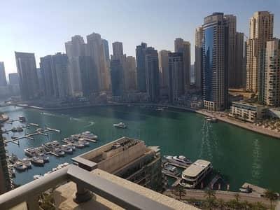 2 Bedroom Apartment for Rent in Dubai Marina, Dubai - Full Marina View