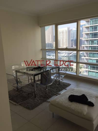 1 Bedroom Apartment for Sale in Dubai Marina, Dubai - Best Deal 1BR in Marina Quay West with marina view