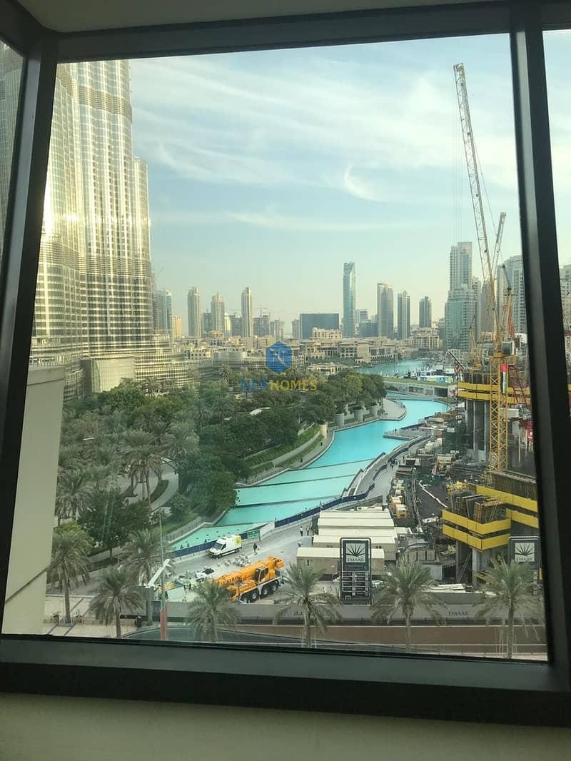 17 Full Fountain And Burj Khalifa View | Large 3BR + Maid