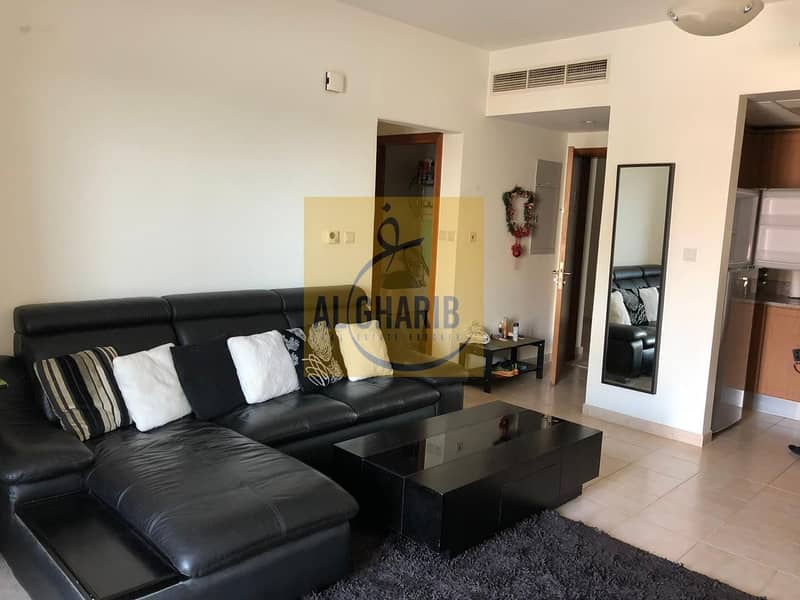 Nice Fully Furnished 1 Bedroom Apartment Available For Rent in Jebel Ali