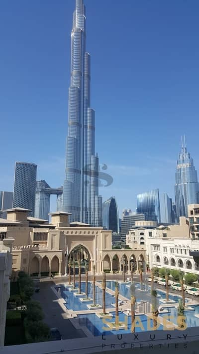 2 Bedroom Flat for Rent in Old Town, Dubai - Breathtaking Burj Khalifa & Palace View.