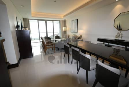 2 Bedroom Flat for Rent in Downtown Dubai, Dubai - Full Burj and Fountain 2BR The Address Downtown