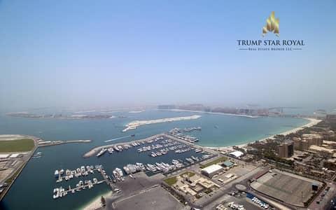 3 Bedroom Apartment for Sale in Dubai Marina, Dubai - Full Sea View 3Br+Study Apt in Cayan Tower Dubai Marina