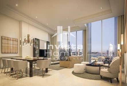 2 Bedroom Flat for Sale in Downtown Dubai, Dubai - taking Views | High Floor | Off plan | 2 Bedroom