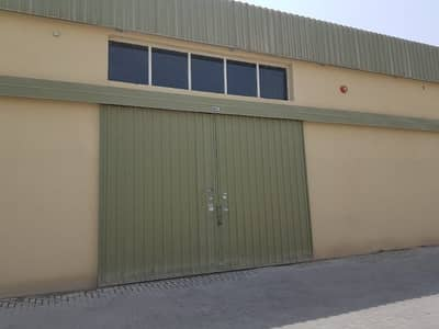 Warehouse for Rent in Ajman Industrial, Ajman - Cheapest Price Wear House with Office Available For Rent in Al Jurf Near to Car Souq 5500 Sqft With 3 phase Electricity Only 137k CALL RAWAL