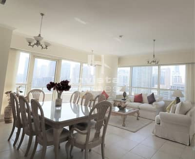 2 Bedroom Flat for Sale in Dubai Marina, Dubai - Best corner | Full Marina View | Mid Floor