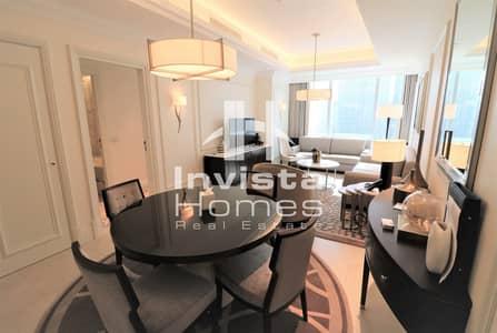 1 Bedroom Flat for Sale in Downtown Dubai, Dubai - 5 Star Serviced Apartment | Burj Khalifa View | Vacant