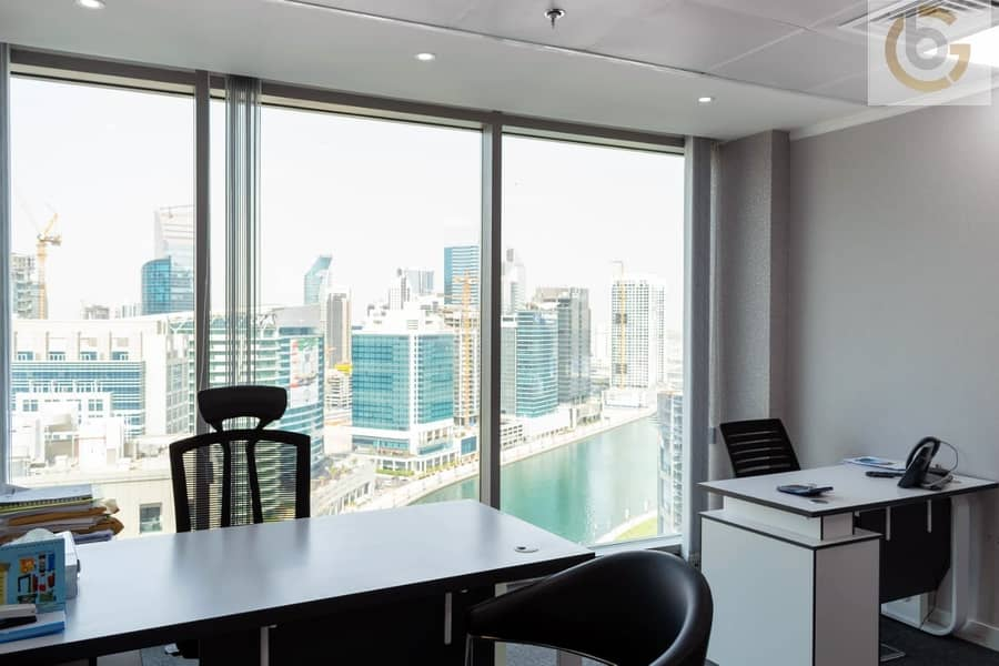 Furnished Office Space For Rent With Ejari