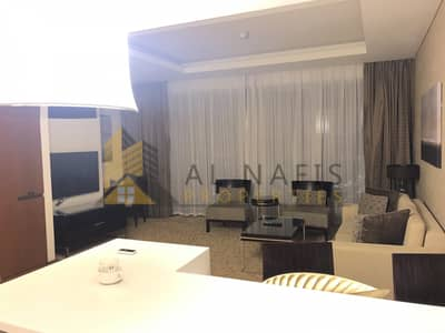 1 Bedroom Flat for Rent in Downtown Dubai, Dubai - Classy Fully  Furnished 1BHK  @ The Address Dubai mall.