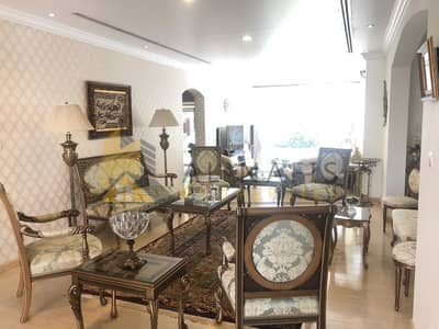 5 Bedroom Villa for Rent in The Meadows, Dubai - Upgraded 5bed + maids Villa with  Amazing  Pool n Jacuzzi.