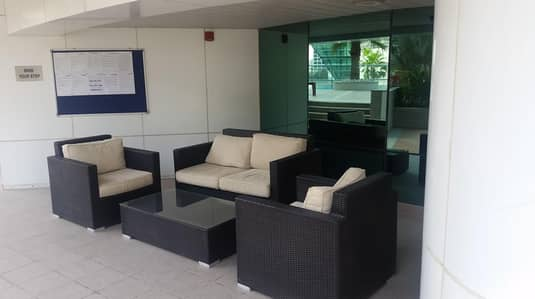 Studio for Rent in Jumeirah Lake Towers (JLT), Dubai - Spacious Fully Furnished Studio  close to JLT MS