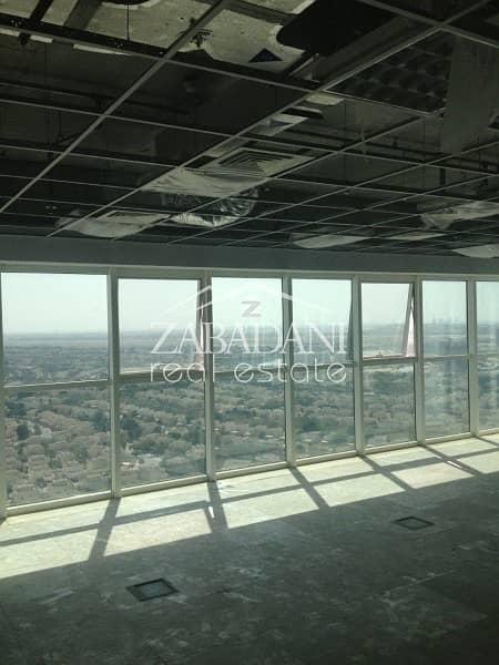 2 Full High Office Floor for sale in Swiss Tower in JLT