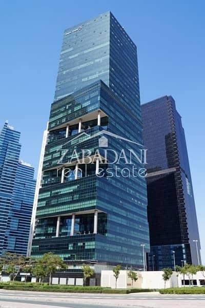 18 Full High Office Floor for sale in Swiss Tower in JLT