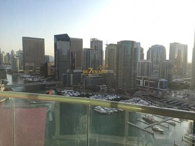 3 Bedroom Flat for Rent in Dubai Marina, Dubai - Marina View Furnished 3 Bed in Point Tower
