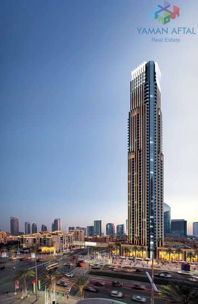 2 Bedroom Flat for Sale in Downtown Dubai, Dubai - 2-BHK Apartment Available (Off-Plan) Sale in Vida Residence Downtown