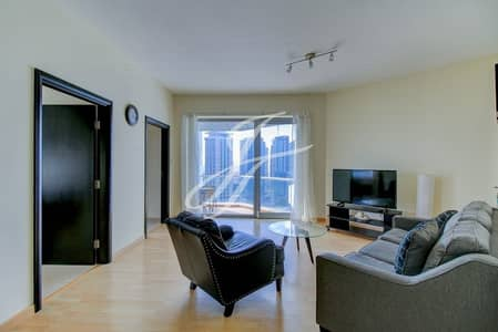 2 Bedroom Flat for Rent in Dubai Marina, Dubai - High Floor| Furnished 2 Bed| Great Views