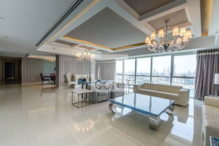 4 Bedroom Apartment for Sale in Al Reem Island, Abu Dhabi - Panoramic Sea View   Penthouse Apartment