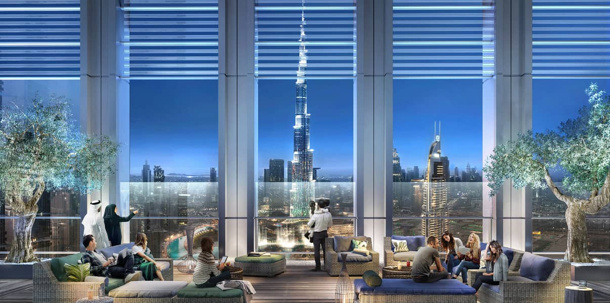 2 Burj Royale at Downtown Dubai