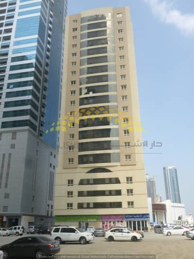 3 Bedroom Flat for Sale in Al Taawun, Sharjah - 3 Bedroom Hall with Dinning Hall and Master room, 1 Covered Car Parking