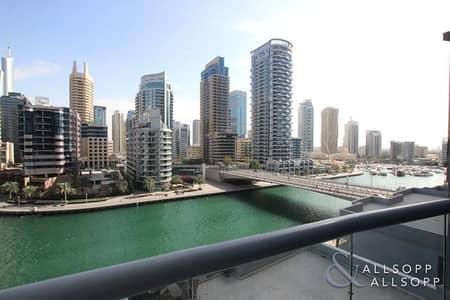 2 Bedroom Flat for Rent in Dubai Marina, Dubai - Marina View | Chiller Free | Unfurnished