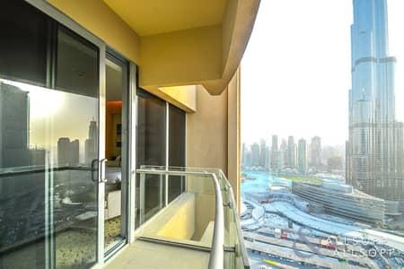 استوديو  للبيع في وسط مدينة دبي، دبي - Vacant l Burj Khalifa View l Fountain View