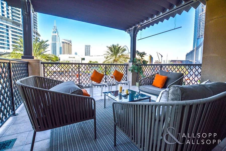 Large Terrace | Close to Dubai Mall | 2 Bed