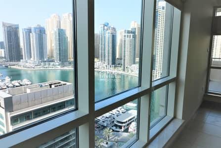 3 Bedroom Apartment for Rent in Dubai Marina, Dubai - 3 Beds + Studio + Balcony | Marina Views