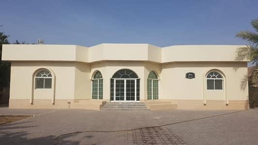 4 Bedroom Villa for Rent in Al Hamidiyah, Ajman - BEAUTIFUL GROUND FLOOR 4 BEDROOM HALL MAJLIS MAIDROOM 2 KITCHEN - 15000 SQFT