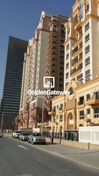 2 Bedroom Apartment for Rent in Dubai Sports City, Dubai - Huge 2 BHK I Closed Kitchen I Golf View