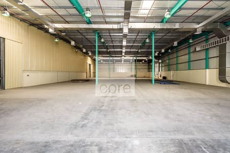 Huge Warehouse with Open Yard | Fitted
