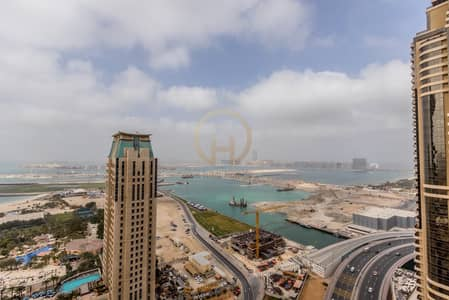 2 Bedroom Apartment for Rent in Dubai Marina, Dubai - 2BR |Seaview | BotanicaTower | Furnished