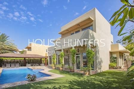 4 Bedroom Villa for Sale in Arabian Ranches, Dubai - Saheel 4bed|Study|Pool|Opposite Nursery