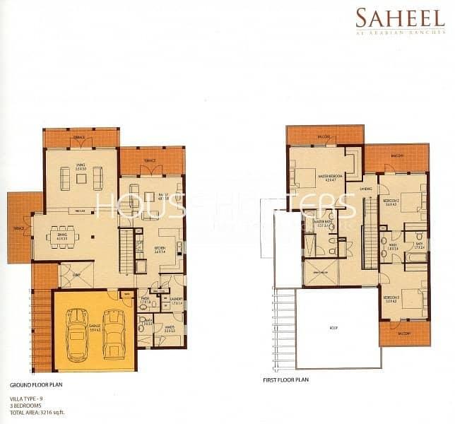 15 Saheel 4bed|Study|Pool|Opposite Nursery