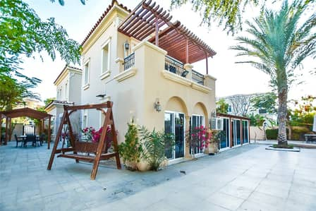 4 Bedroom Villa for Rent in Arabian Ranches, Dubai - Nice Large Garden   Type B2   Single Row