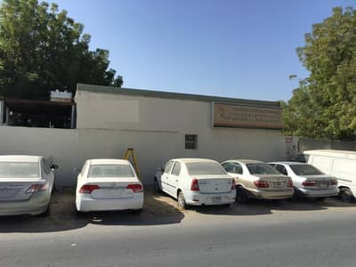 Other Commercial for Rent in Al Qusais, Dubai - Open Shed with office & yard available for rent in Qusais Best Deal. garage , paint booth, jacks