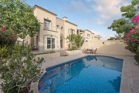 3 Bedroom Villa for Rent in The Springs, Dubai - 3BR plus Study Villa Close to the Pool and Lake