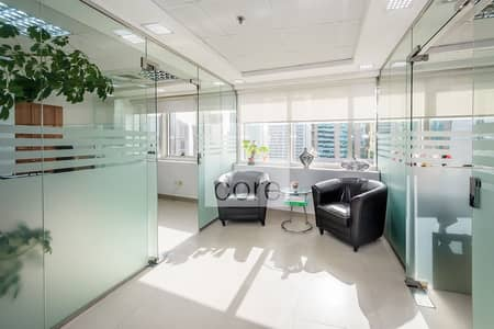 Office for Sale in Jumeirah Lake Towers (JLT), Dubai - Fitted and Partitioned | High Floor | DMCC