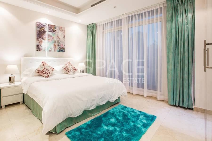 Spacious | Furnished | Full Marina View