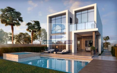 3 Bedroom Villa for Sale in DAMAC Hills (Akoya by DAMAC), Dubai - Cheapest Price to Own Your Villa with Gulf view Pay Only 100 K with 4 years payment  Plan