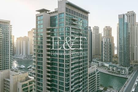 1 Bedroom Apartment for Rent in Dubai Marina, Dubai - Marina View  | Appliances | Chiller free