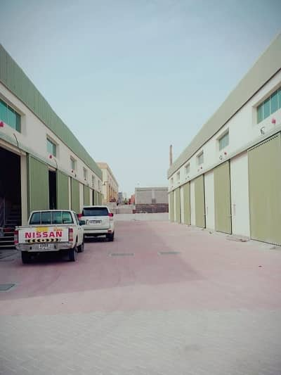 Warehouse for Rent in Ajman Industrial, Ajman - Cheapest Price Wear House with Office Available for Rent in Al Jurf  Near to Car Souq 2300 Sqft 45k Call Rawal