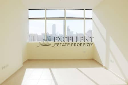 2 Bedroom Flat for Rent in Al Salam Street, Abu Dhabi - Excellent OfferA Nice and Good City View 2 BR Flat with Maids Room