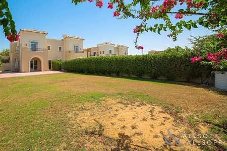 3 Bedroom Villa for Sale in The Lakes, Dubai - Huge Elevated Plot | End Unit | Ghadeer