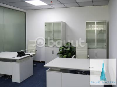 Office for Rent in Business Bay, Dubai - Serviced Office in Business Bay only in 11000