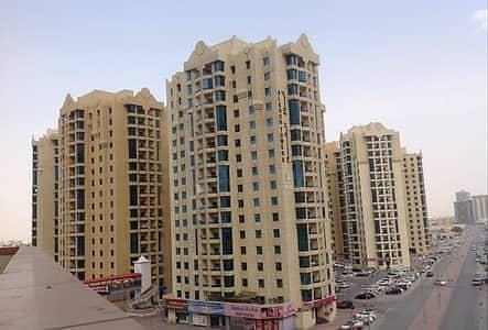 2 Bedroom Flat for Rent in Ajman Downtown, Ajman - Big 2 Bhk apartment with C view for rent in al Khor Tower