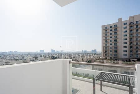 Studio for Rent in Al Furjan, Dubai - Fully Furnished Studio-Pool and Garden view