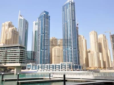 Studio for Rent in Dubai Marina, Dubai - Stunning Studio|Full Marina View in Bay Central