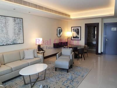 1 Bedroom Hotel Apartment for Rent in Downtown Dubai, Dubai - Furnished 1BR I Views of Old Town Dubai