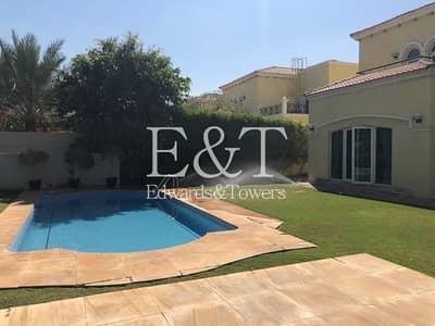 4 Bedroom Villa for Rent in Jumeirah Park, Dubai - Single Row  Fully upgard 4 BR legacy  JP